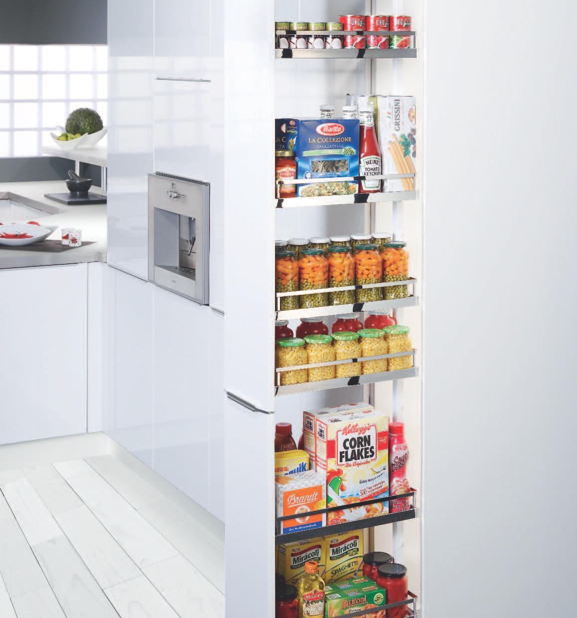 Potravinová skrňa Dispensa od firmy Kesseboehmer.